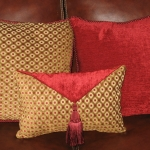 Chenille Square Pillows
