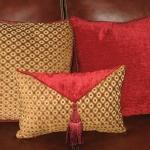 Chenille Square Pillows