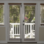 Routeless 2.5 in. wood blinds