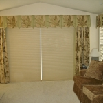 Motorized Hunter Douglas Shades under Curtains
