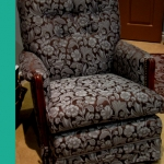 Re-upolstered Rocking Chair