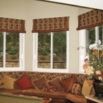 Stage Coach Valances with Coordinated Bay Windows Seat