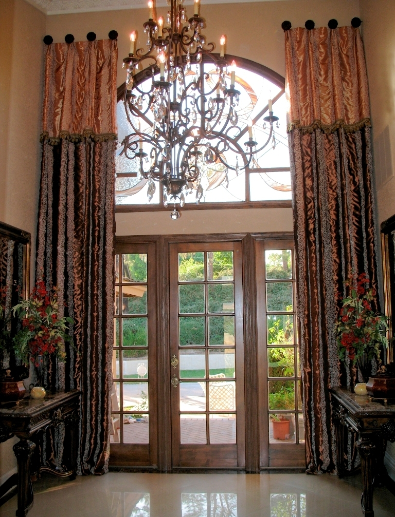 Custom drapery makes a lasting impression anna ione for Custom design windows
