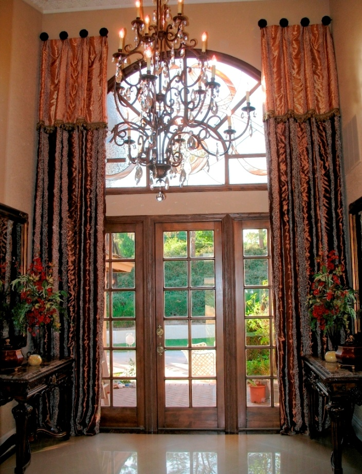 Trend Alert Two Toned Drapes Anna Ione Interiors