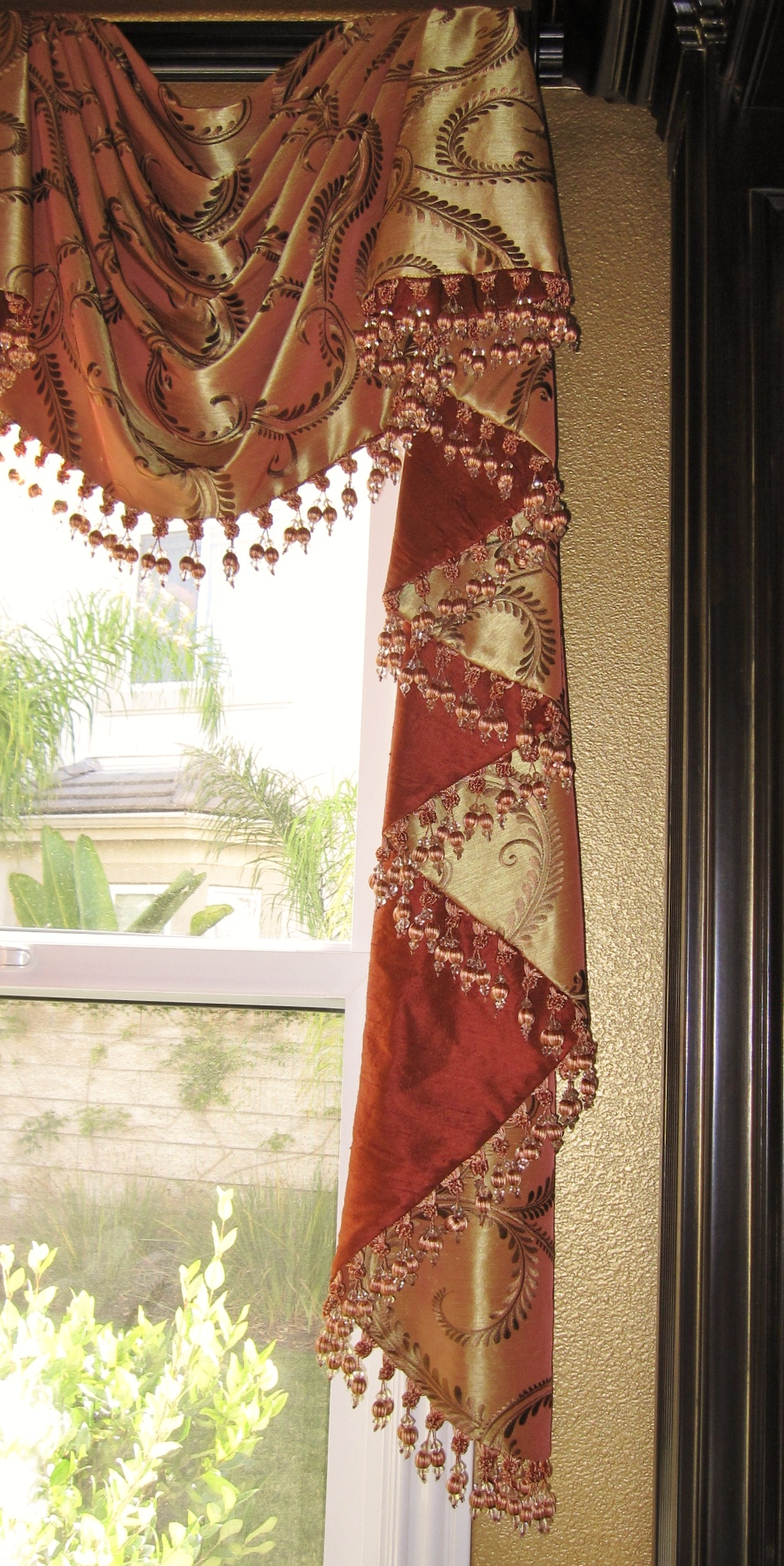 Drapery Trims And Details Anna Ione Interiors