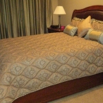 Custom Quilted Bedding & Pillows
