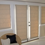 Light Filtering Pleated Roman Shades